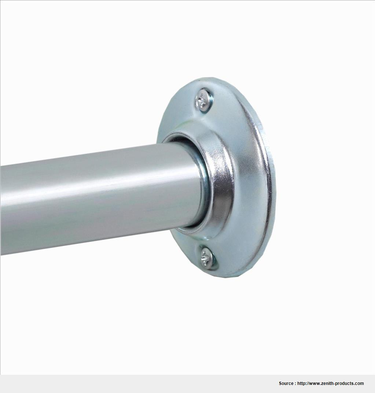Best shower curtain rod no screws picture