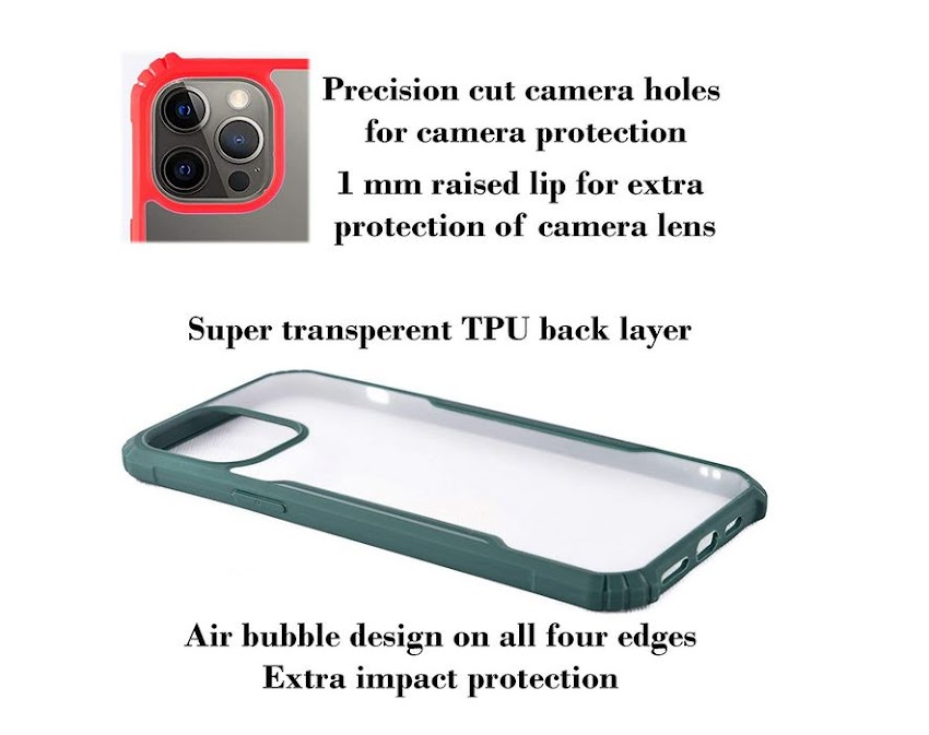 Videotronix Mobile Back case protect Xiaomi Redmi 9 Prime/Poco M2 || Ipaky PC+TPU Ultra Thin