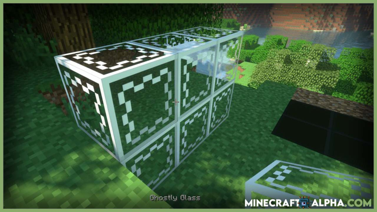 Minecraft Glassential Mod For 1.17.1 And 1.16.5 (Various of Cool Glasses)