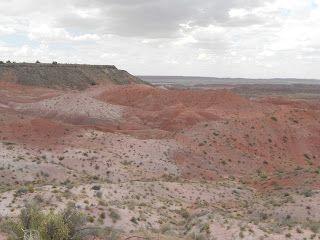 painted desert scenery