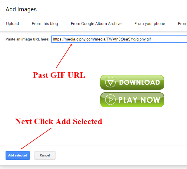 Add Animated Download Button for Blogger