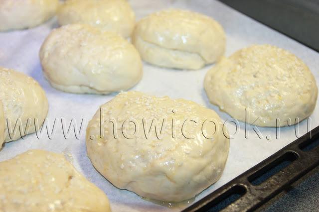 рецепт булочек для гамбургеров от энди шефа с пошаговыми фото