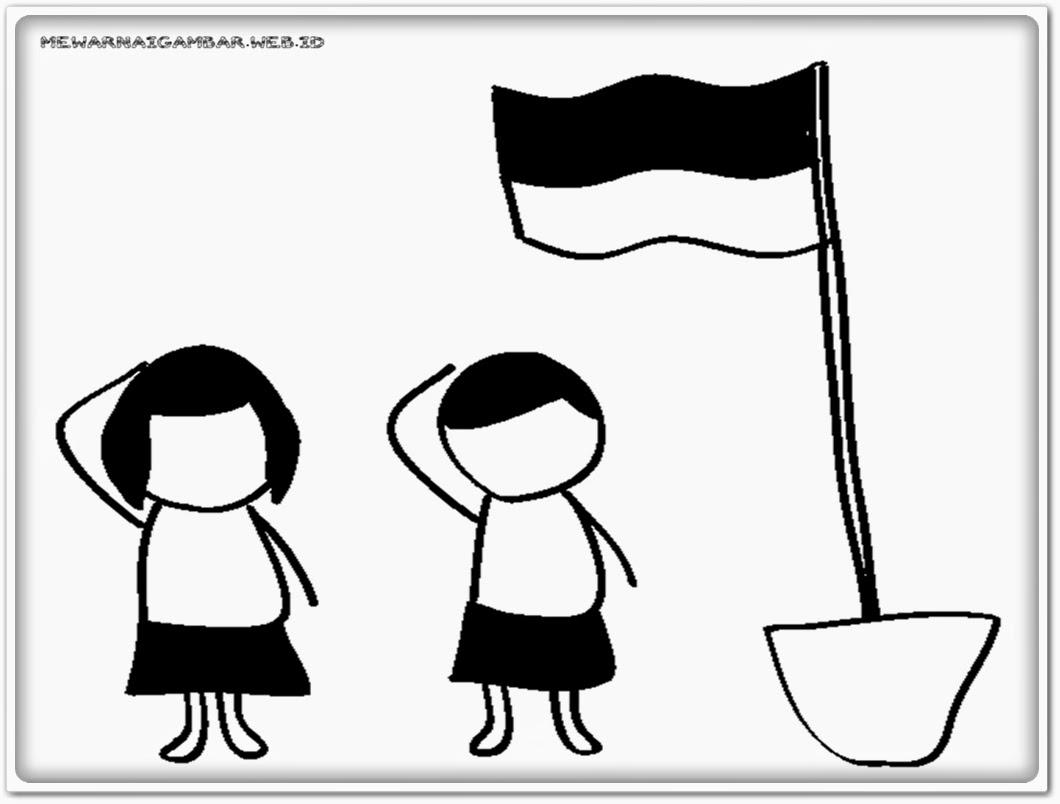Download Sketsa Gambar Pejuang Untuk Anak Tk Aliransket