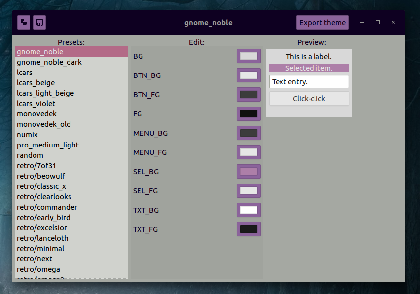 Easily Create Your Own Numix-Based GTK Themes With Oomox