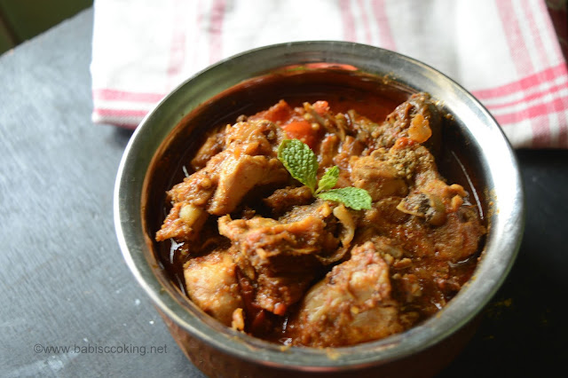 Nattu Kozhi Kuzhambu | Chicken curry without Coconut | Step by Step