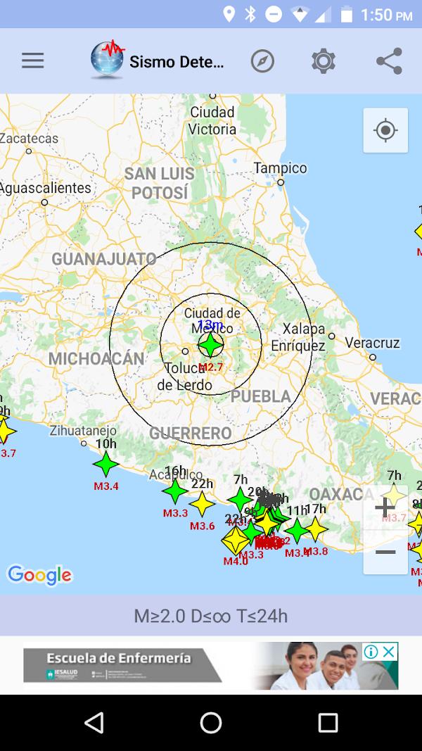 ÚLTIMA HORA: Reportan Sismo En La Ciudad De Mexico.