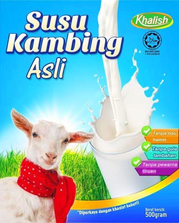 Susu kambing khalish asli