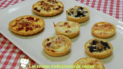 Receta fácil de tartaletas con masa casera y rellenos variados