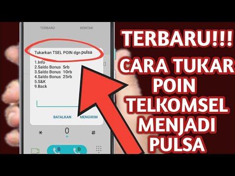 Cara Tukar Poin Telkomsel dengan Pulsa