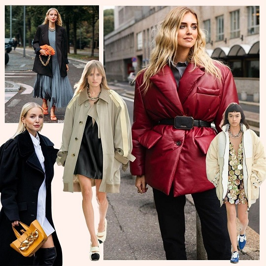 Oversize fall trend 2020