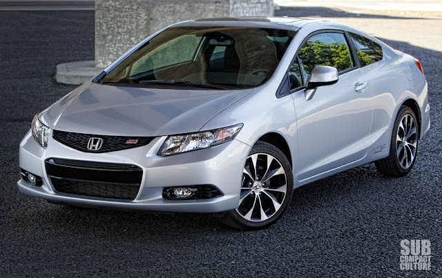 2013 Honda Civic Si left front