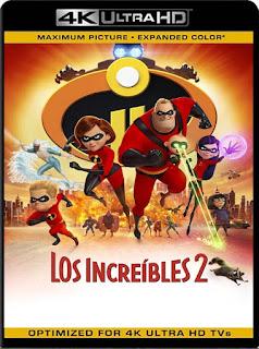 Los Increíbles 2 (2018)4K 2160p UHD [HDR] Latino [GoogleDrive]