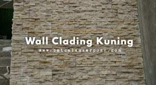 wall clading kuning