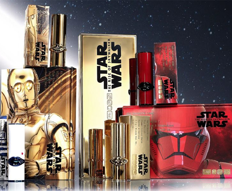 Pat McGrath x Star Wars The Rise of Skywalker Holiday 2019 Makeup Collection