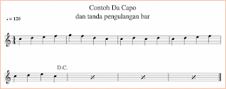 gambar contoh da capo