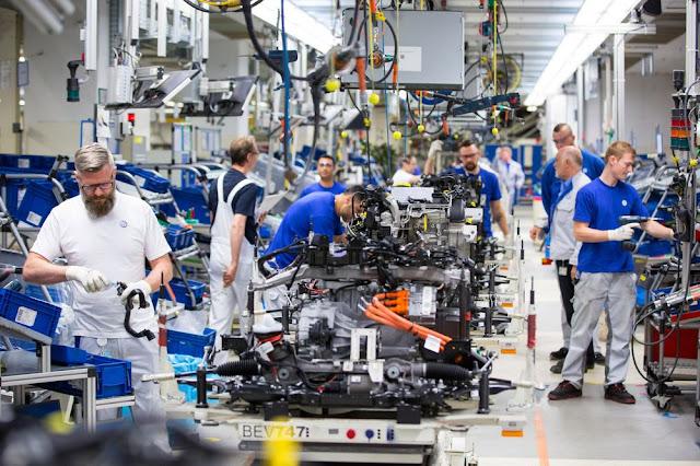 desarrollo industrial en potencias