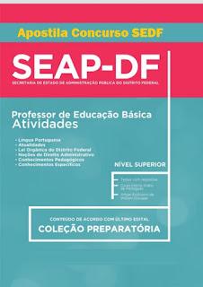 Apostila Concurso SEDF - Secretaria de Educação do DF Professor