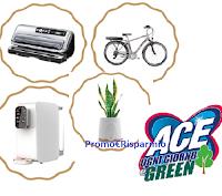 """Concorso ACE """"Ogni giorno è Green"""" : vinci bici elettriche, sigillatrici Foodsaver e purificatori d'acqua o aria"""