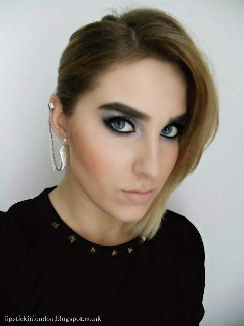 Cara Delevingne inspired makeup