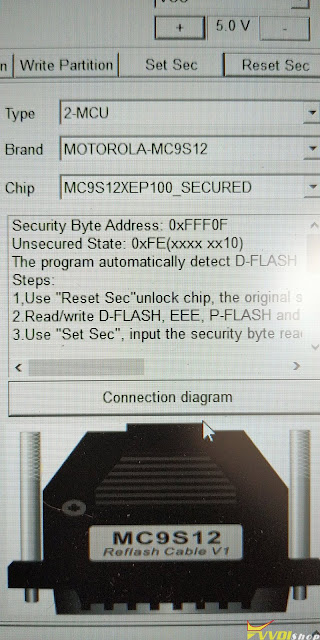 Xhorse VVDI Prog MC9S12XEP100 Secured  1