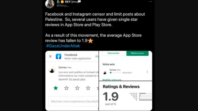 Facebook Terus Dihantam, Aktivis Pro-Palestina Kampanyekan Rating Bintang 1 Aplikasi