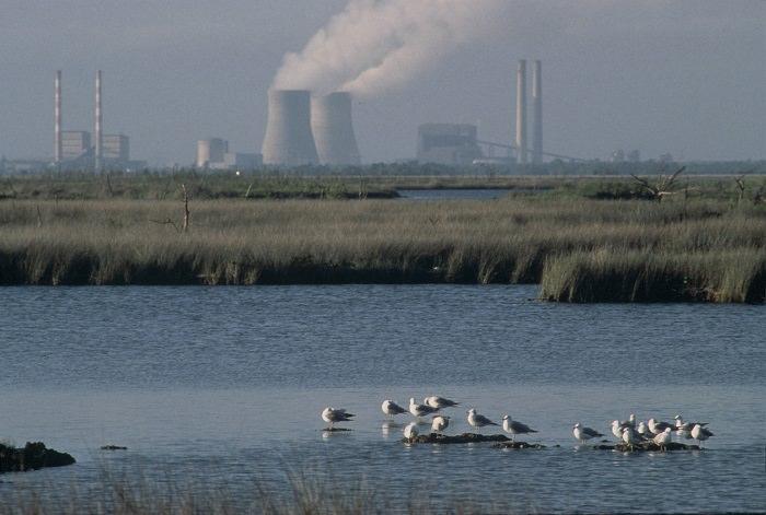 agua planta nuclear