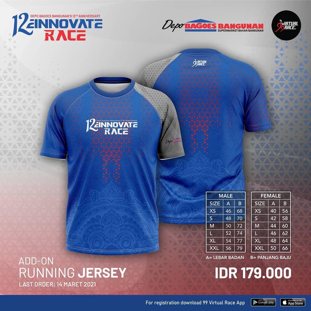 Running Jersey 👕 12einnovate Race • 2021