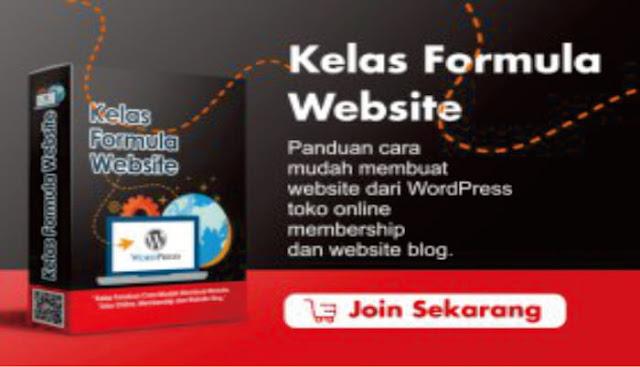 Kelas Formula Website
