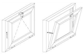 Откидные окна Волгоград изготовление плюс установка