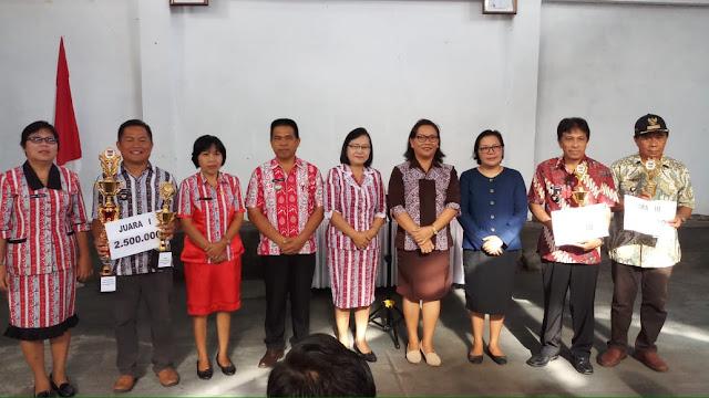 Gelar Ibadah Awal Tahun, Camat Kawalo Tegaskan PD Wajib Kerja Bersama