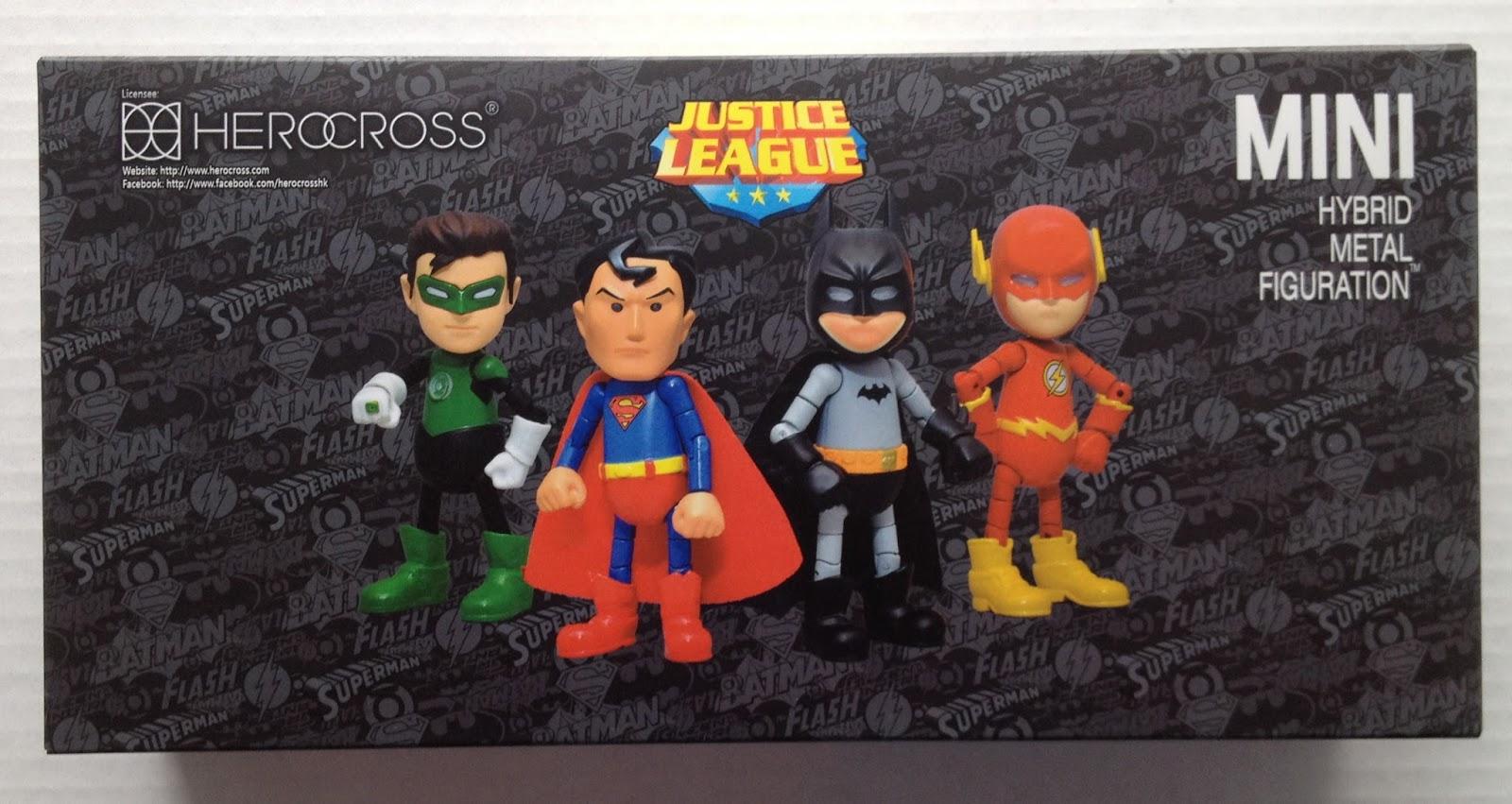 DC Justice League Herocross Superman /& Green Lantern Mini Figure Lot of 2