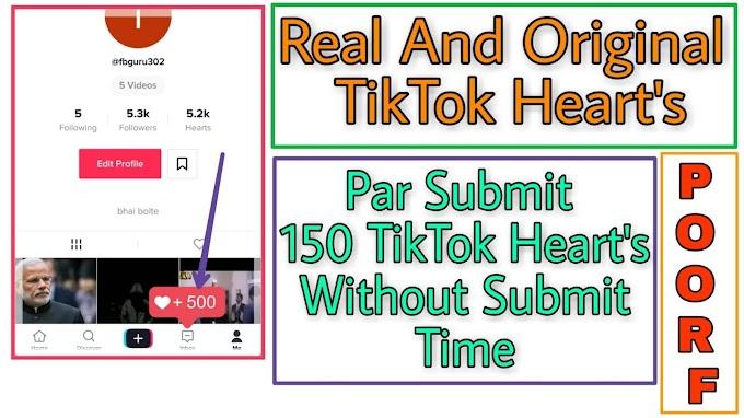 How To Increase Free Unlimited TikTok Heart's 2019 - TikTok heart's Secret Trick 2019