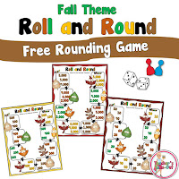 FREE Fall Rounding Game