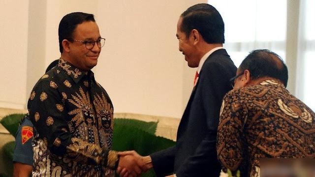 Jokowi Dukung Anies, Keterbelahan Berakhir