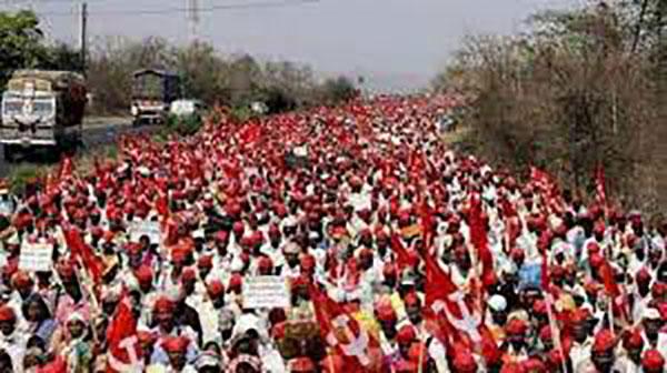 National, Mumbai, Kissan March,
