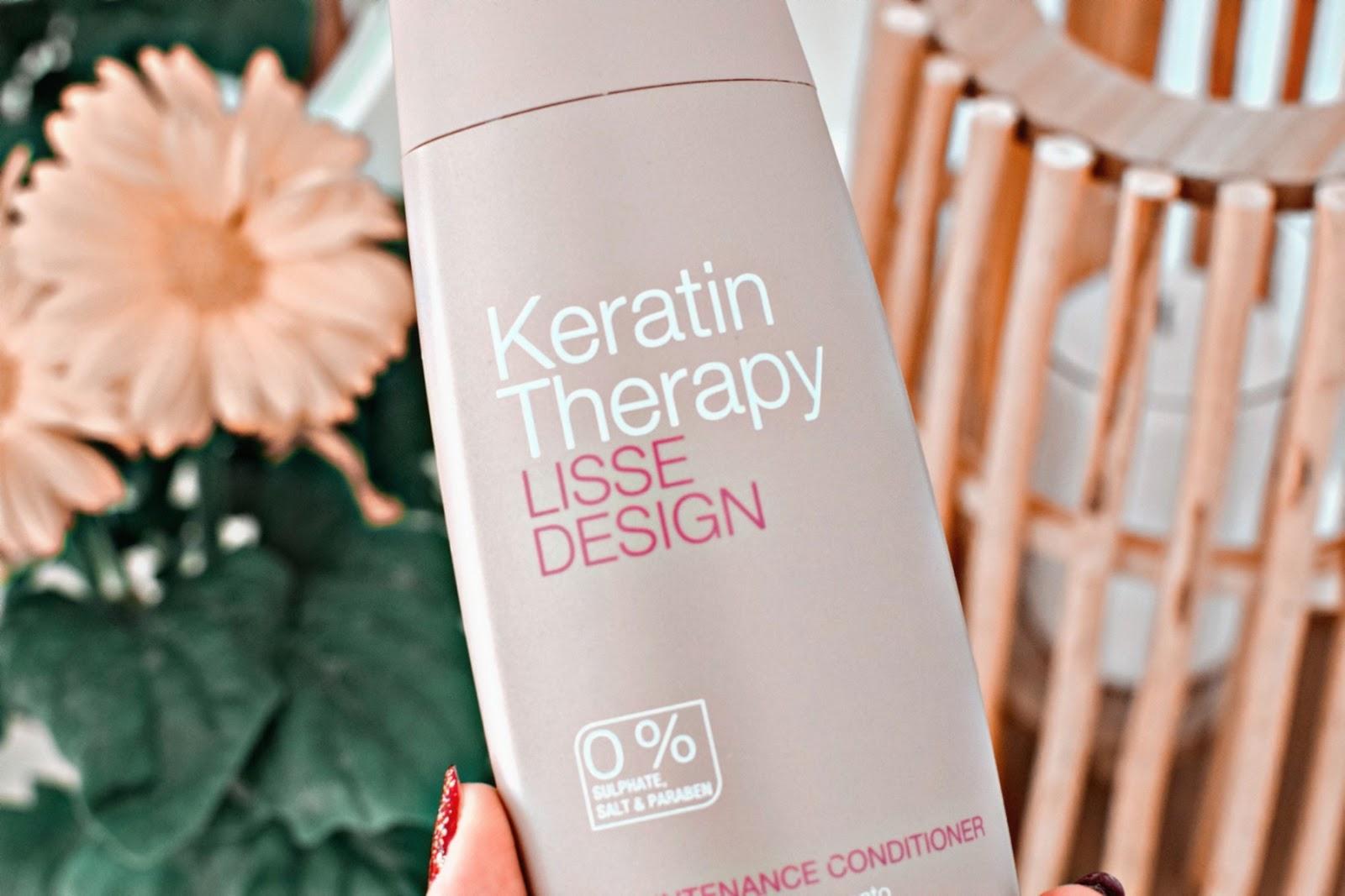 Odżywka do włosów Keratin Therapy