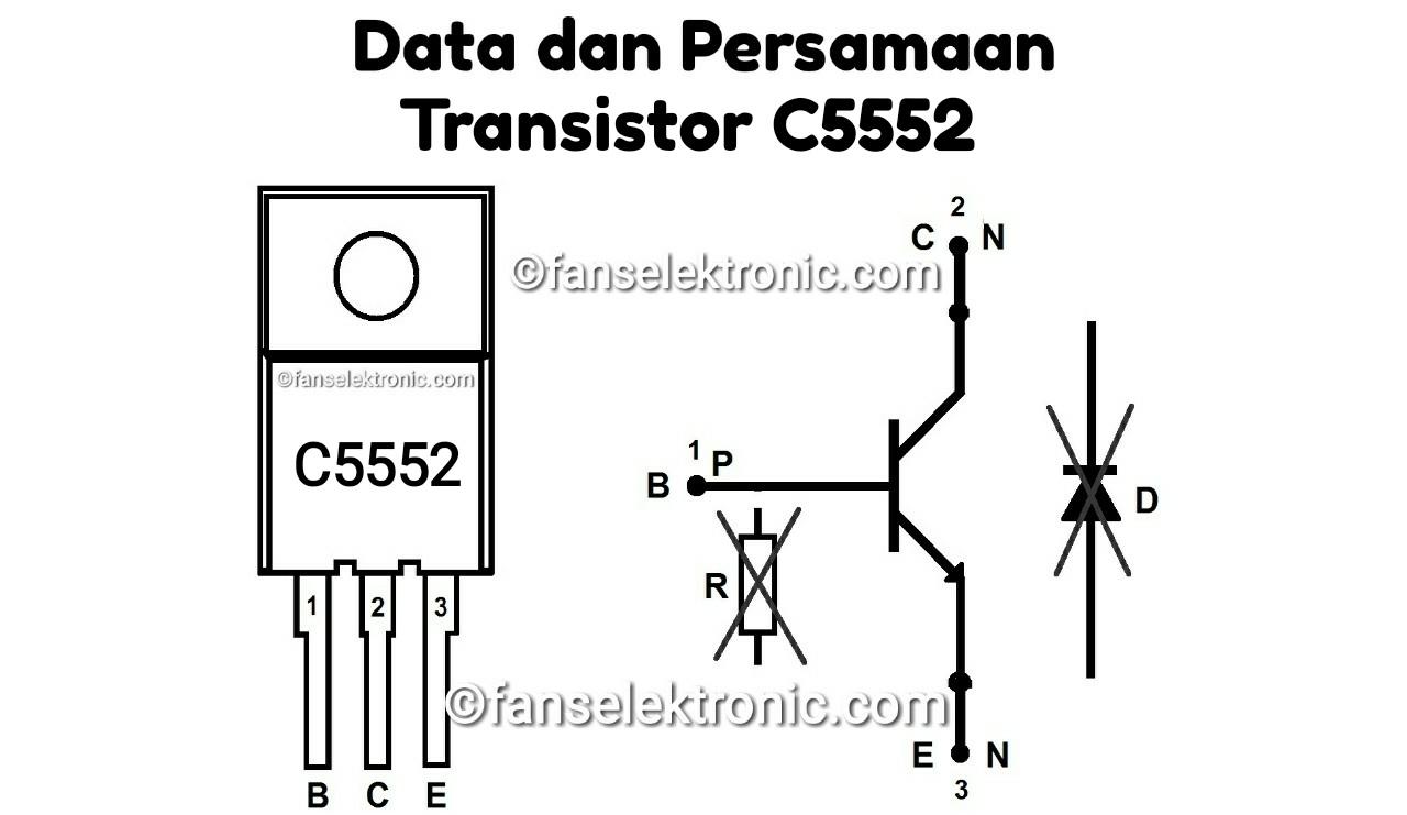 Persamaan Transistor C5552