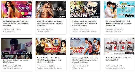 Hindi Bollywood Movie Collection 2015 Year
