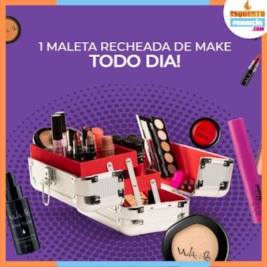 Promoção Vult - Concorra a Uma Maleta com Maquiagens Todo Dia