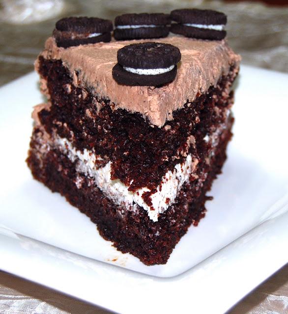 Vegan Chocolate Oreo Cake • Holy Cow! Vegan Recipes