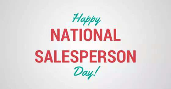 National Salesperson Day Wishes Images