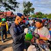 Upaya Terapkan Protkes Jelang Perayaan Idul Adha. Danyon C Pelopor Bersama Forkopimda Bone Lakukan Ini