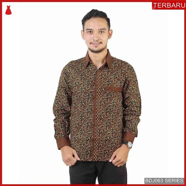 BDJ63K47 Kemeja Batik 0063 Terbaru BMGShop