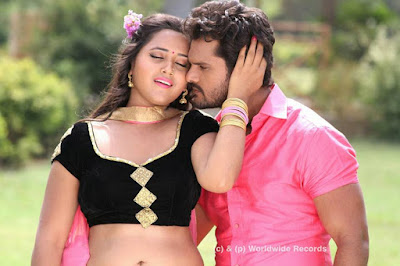 Kajal Raghwani and Khesari