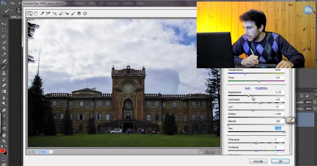HDR in Photoshop, video Tutorial completo sui diversi metodi di elaborazione