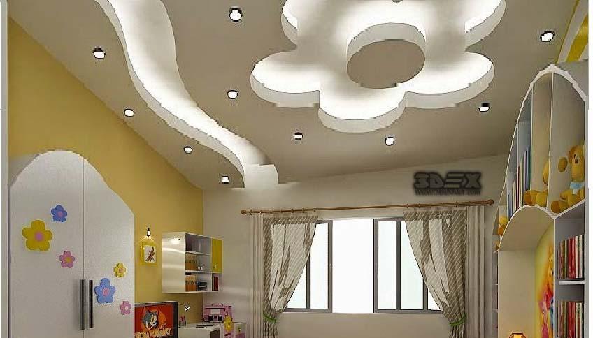 Top false ceiling designs, POP design for bedroom 2019 ...
