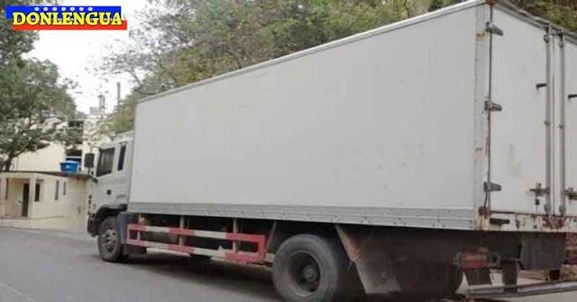 Camión repleto de cadáveres con el Virus Chino está estacionado en Bello Monte
