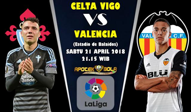 Prediksi Celta Vigo vs Valencia 21 April 2018