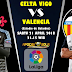 Agen Piala Dunia 2018 - Prediksi Celta Vigo vs Valencia 21 April 2018