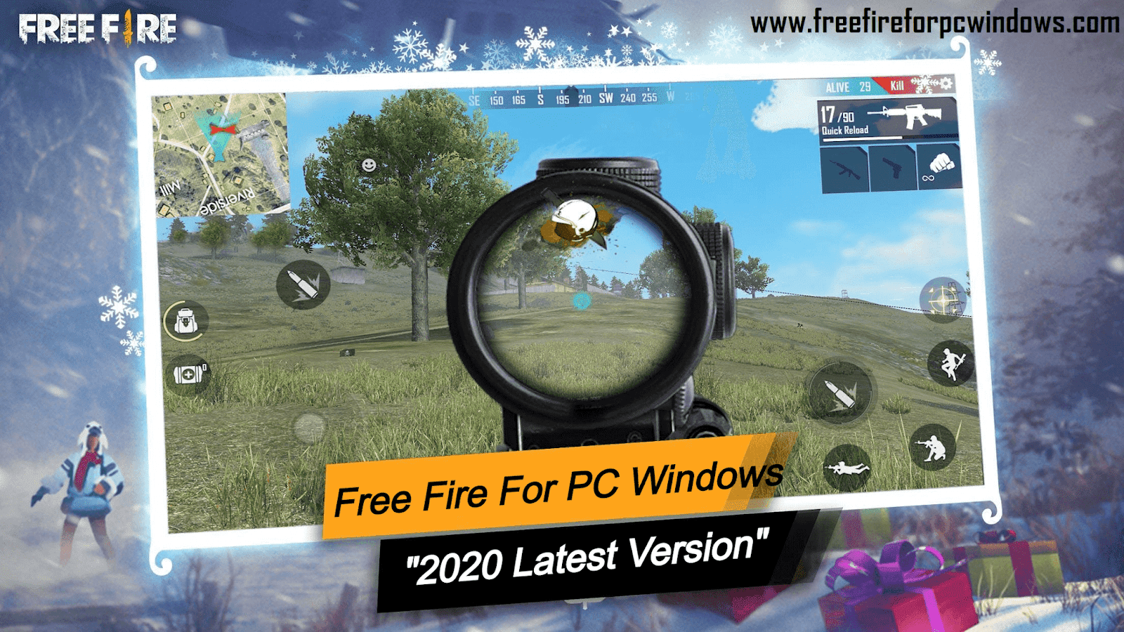 Free Fire For Pc Windows 10 8 7 2020 Latest